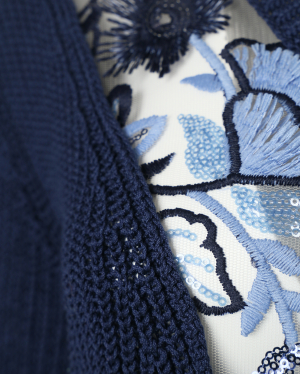 Antonio Marras | Джемпер из хлопка, с объемной вышивкой | Clouty