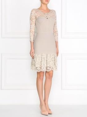 Lil Pour L'autre | Платье с вставками из кружева | Clouty