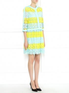 Moschino Couture | Жакет с кружевной отделкой | Clouty