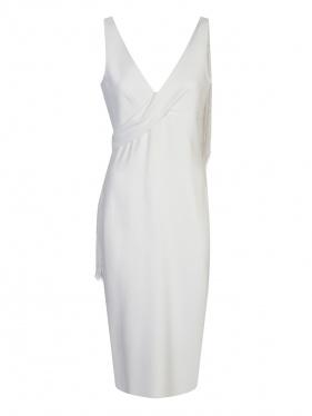 Cushnie Et Ochs | Платье-футляр с бахромой | Clouty