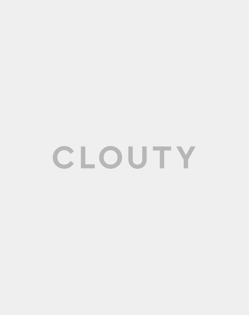 Boutique Moschino | Юбка - карандаш из перфорированной ткани декорированная пуговицами | Clouty