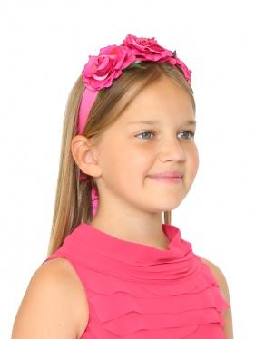 I Pinco Pallino | Повязка для волос с цветочным декором | Clouty
