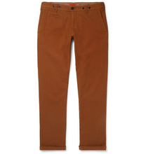 Barena - Rampin Stretch-cotton Twill Trousers - Brown