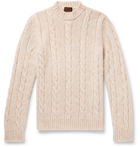 Tod's | Tod's - Cable-knit Sweater - Cream | Clouty