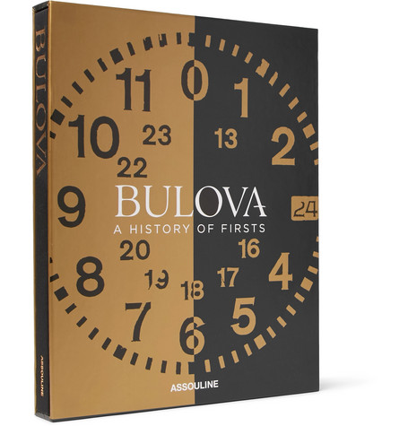 Assouline   Assouline - Bulova: A History Of Firsts Hardcover Book - Multi   Clouty