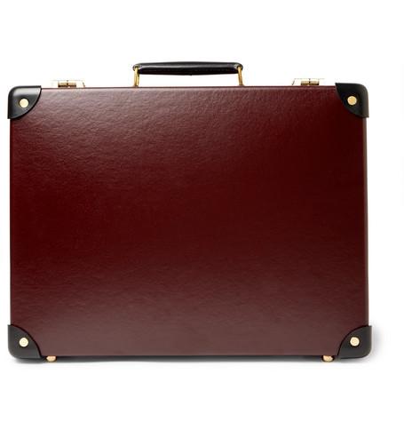 "Globe-Trotter | Globe-Trotter - Centenary 16"" Slim Attache Briefcase - Burgundy | Clouty"