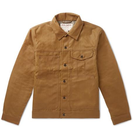 Filson | Filson - Short Lined Cruiser Waxed-cotton Jacket - Brown | Clouty