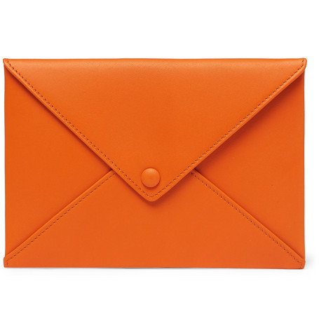 Foundwell | Foundwell - Leather Passport Cover - Orange | Clouty