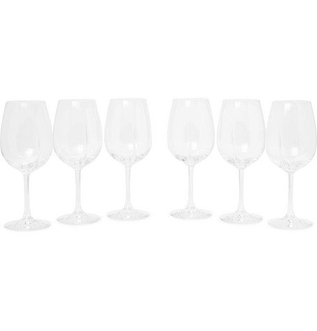 L'Atelier du Vin | L'Atelier du Vin - Exploreur Classic Set Of Six Wine Glasses - Clear | Clouty