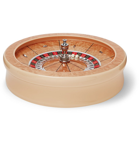 William & Son | William & Son - Maple Veneer Roulette Wheel - Brown | Clouty