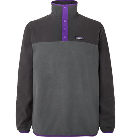 Patagonia | Patagonia - Micro D Snap-t Fleece Sweatshirt - Gray | Clouty