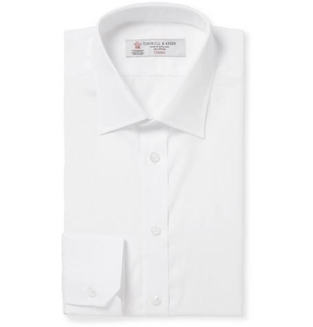 Turnbull & Asser | Turnbull & Asser - White Cotton Shirt | Clouty