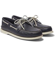 Sperry - Authentic Original Leather Boat Shoes - Navy