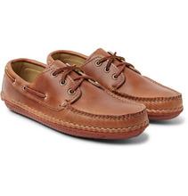 Фото Quoddy - Boat Moc Ii Leather Boat Shoes - Tan