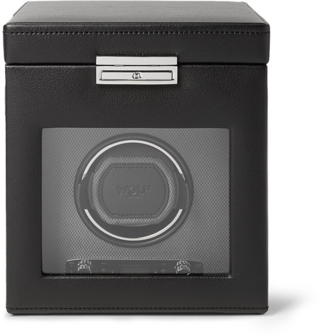 WOLF | WOLF - Viceroy Single Watch Winder - Black | Clouty