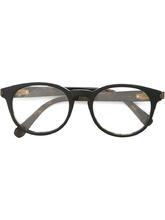 Фото оптические очки в круглой оправе Brioni