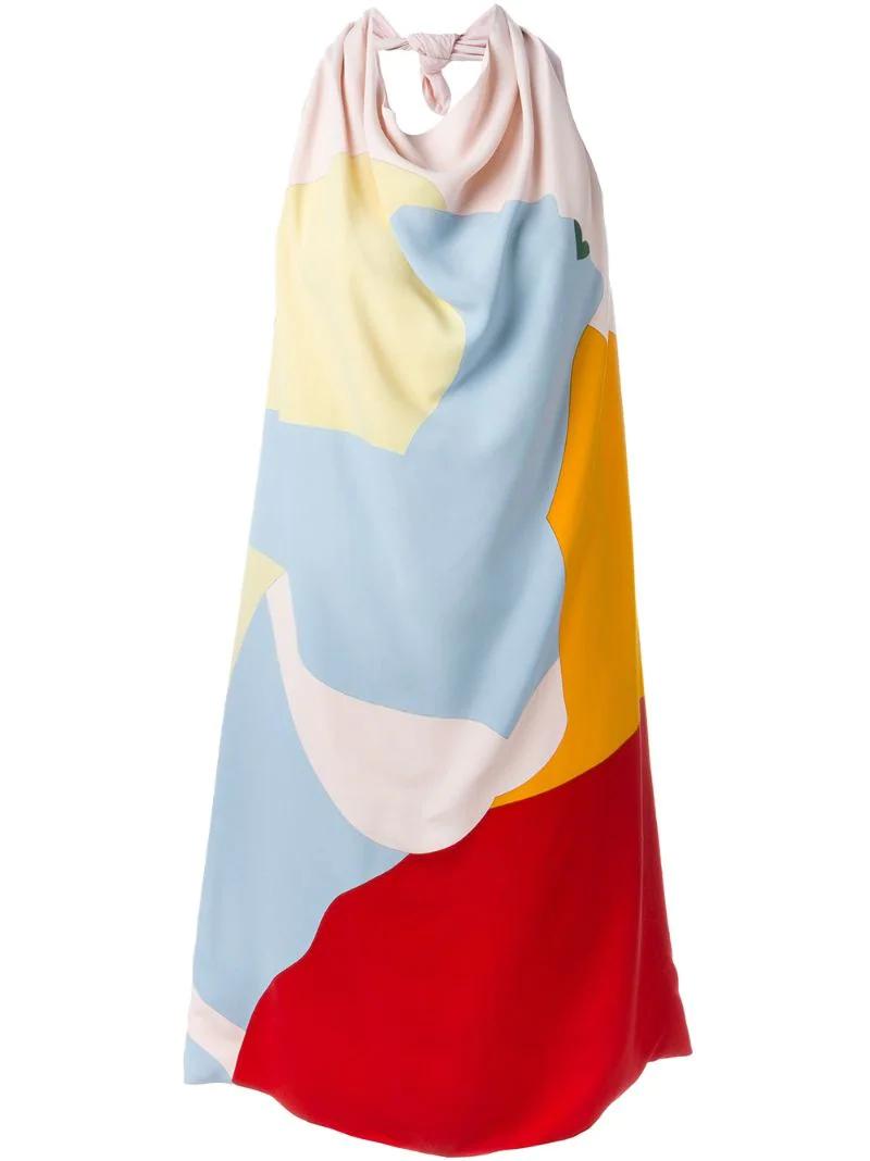 NINA RICCI | платье с принтом | Clouty