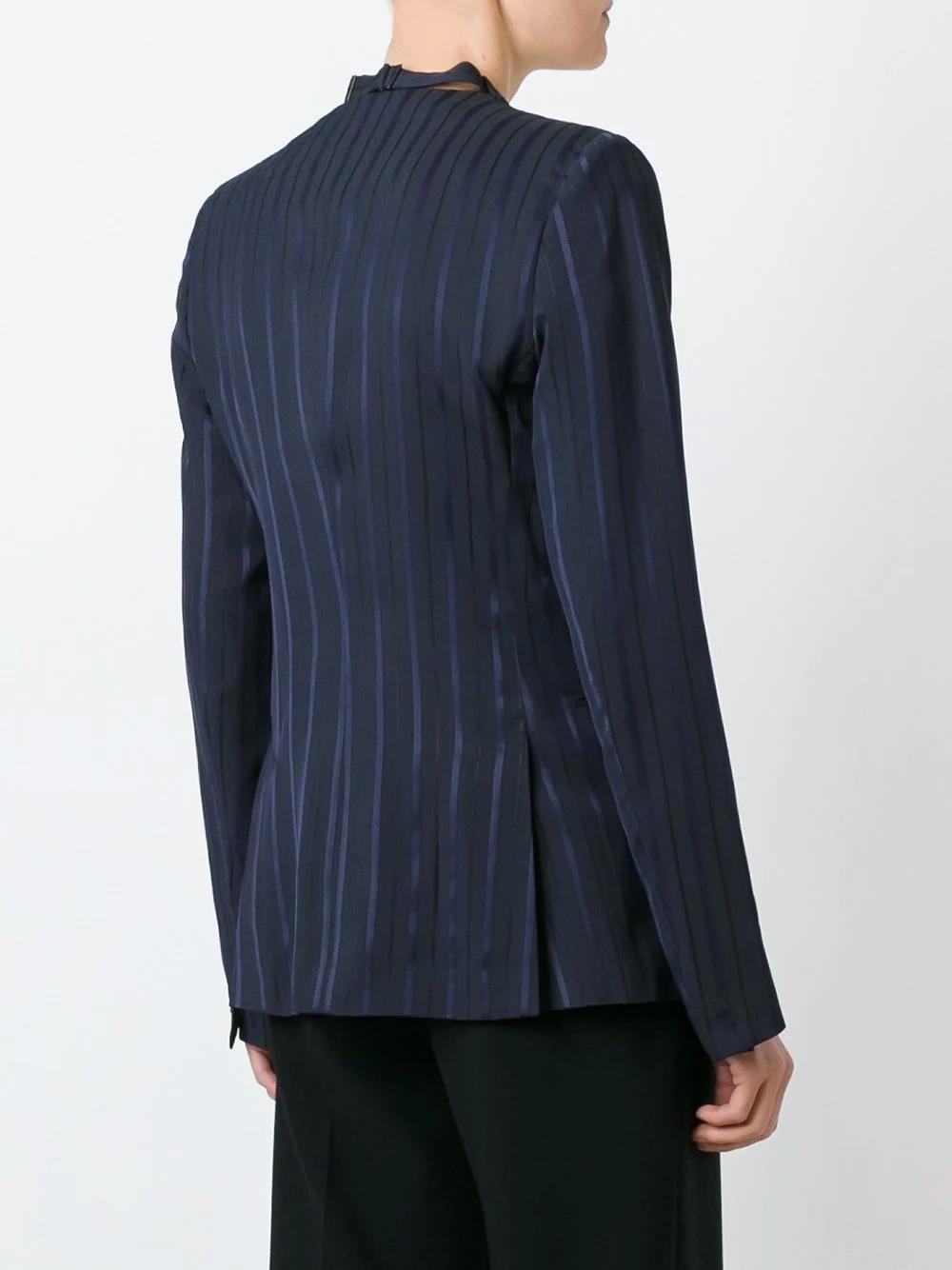 Maison Margiela | пиджак в тонкую полоску | Clouty