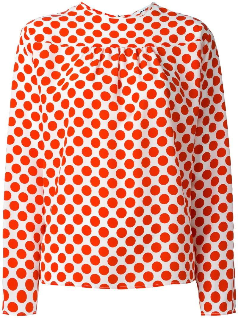 MSGM | блузка в горох | Clouty