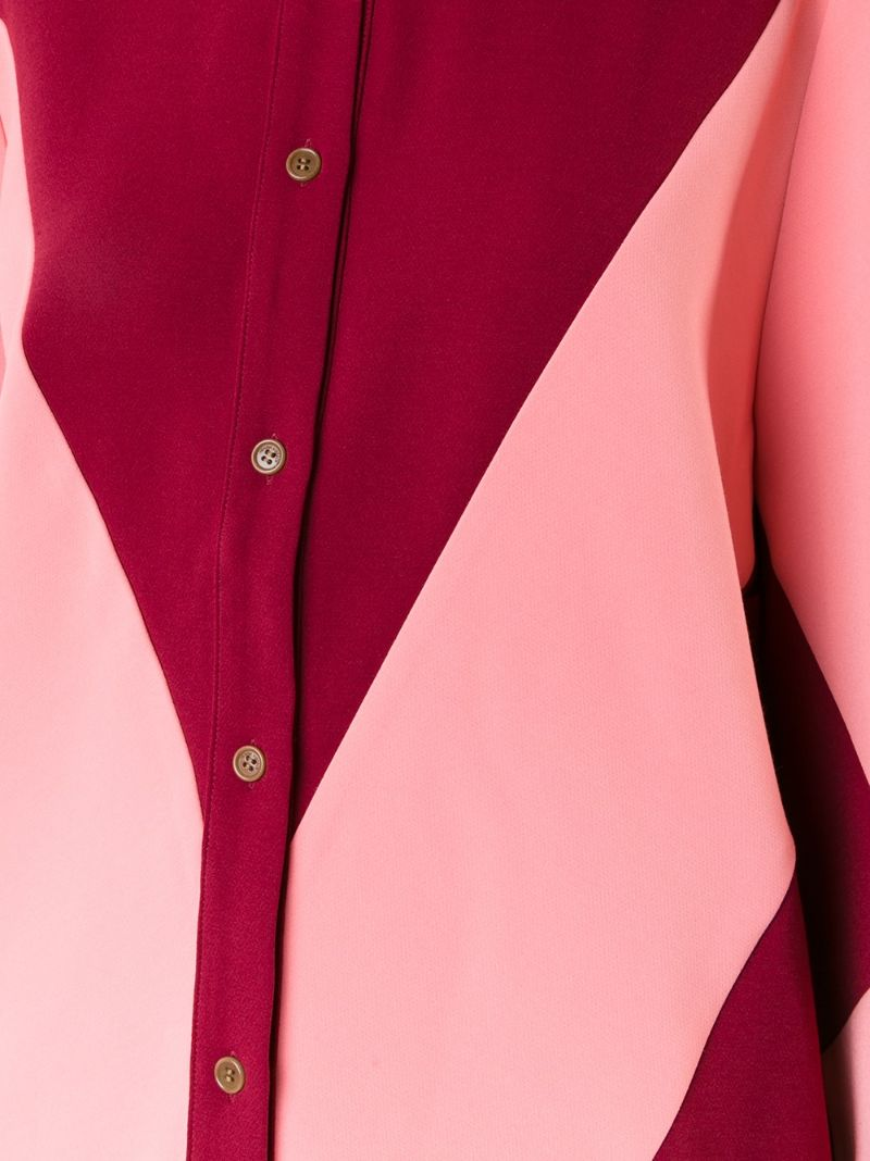 Henrik Vibskov | Красный блузка с графическим рисунком Henrik Vibskov | Clouty