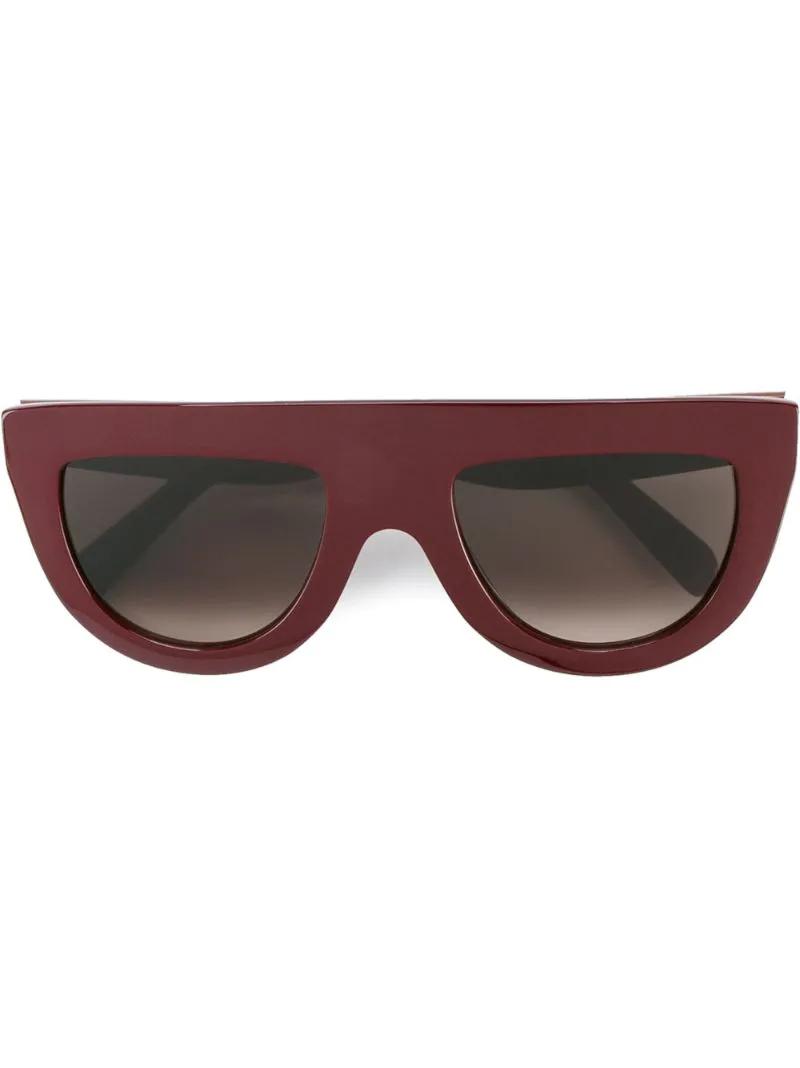CÉLINE   Розовый и фиолетовый солнцезащитные очки Andrea Celine Eyewear   Clouty