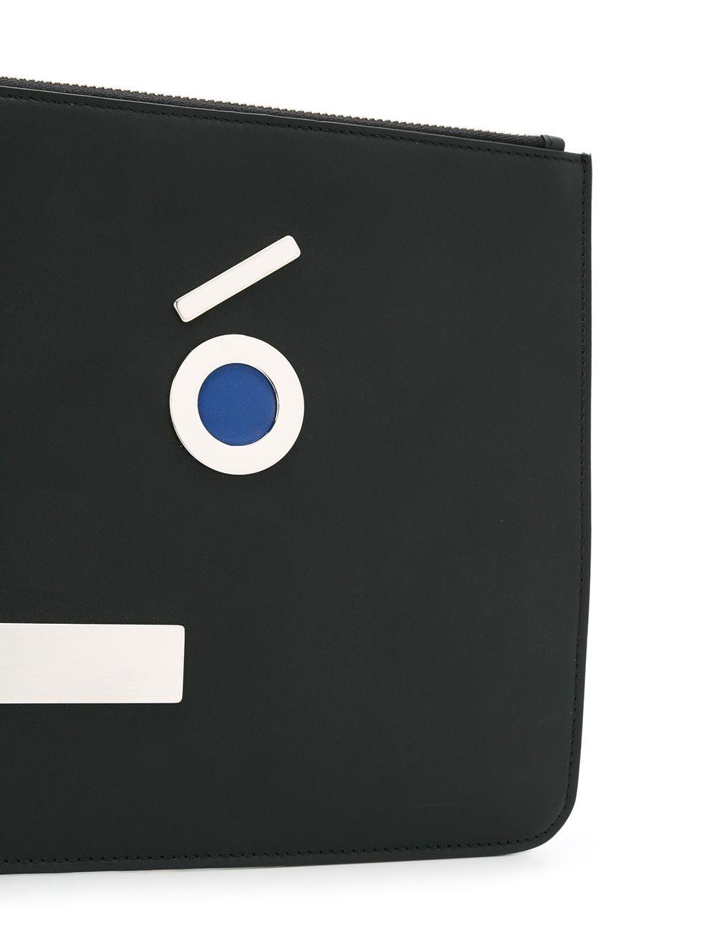 FENDI   плоский клатч   Clouty