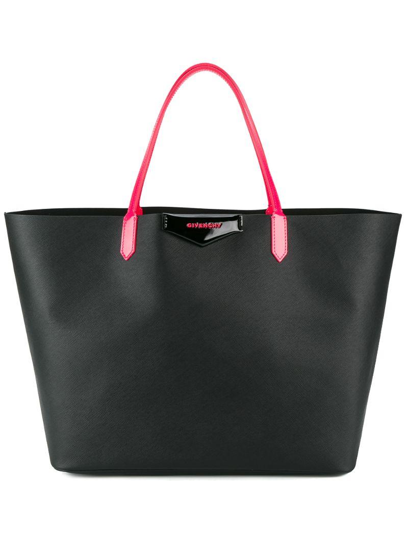"GIVENCHY | Чёрный большая сумка-тоут ""Antigona"" Givenchy | Clouty"