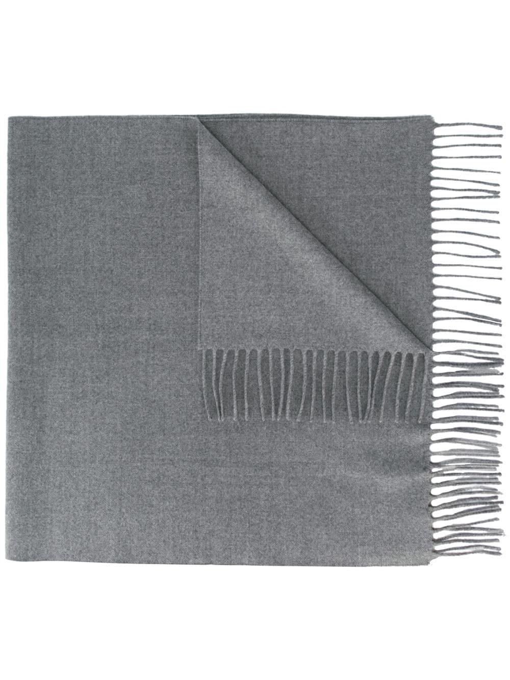 KENZO   шарф с бахромой   Clouty