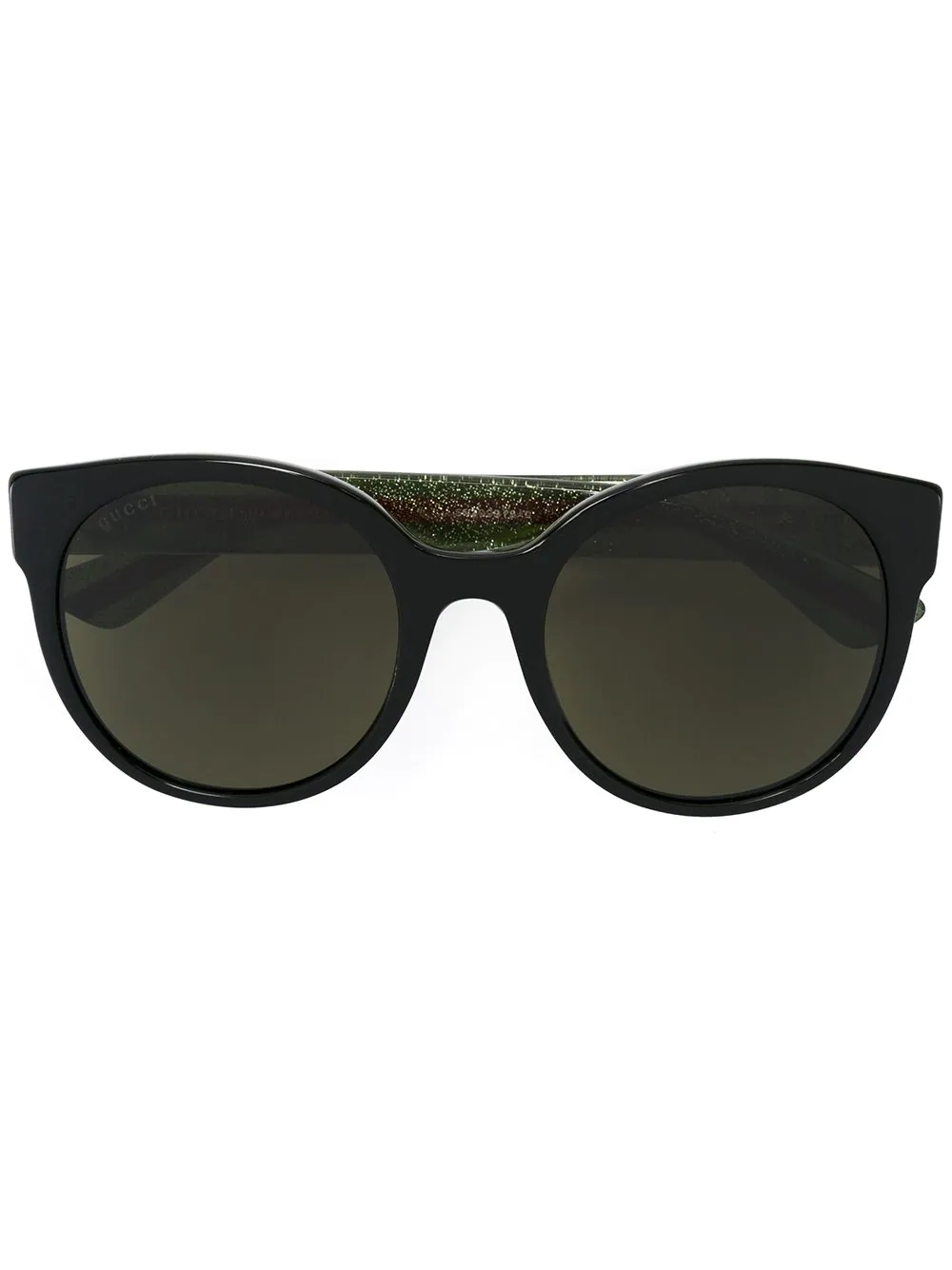 GUCCI   солнцезащитные очки в круглой оправе   Clouty