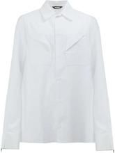 Фото рубашка с нагрудными карманами Moohong