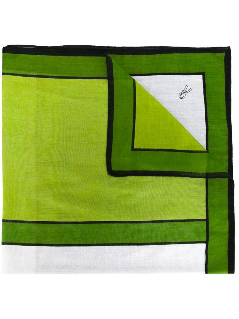 Roberta Di Camerino Vintage | платок с геометрическим узором | Clouty