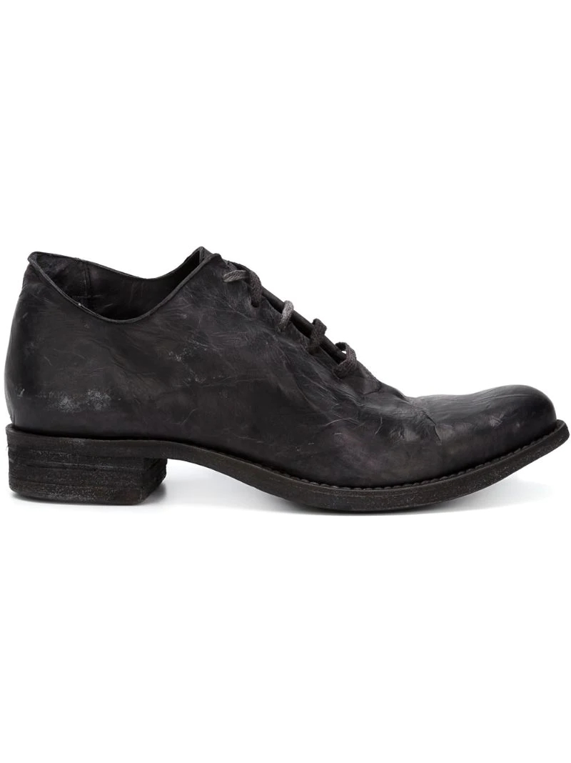 A Diciannoveventitre | ботинки на шнуровке с потертой отделкой | Clouty