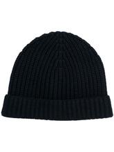 Фото шапка в рубчик