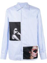 Фото рубашка с фото нашивкой Misbhv