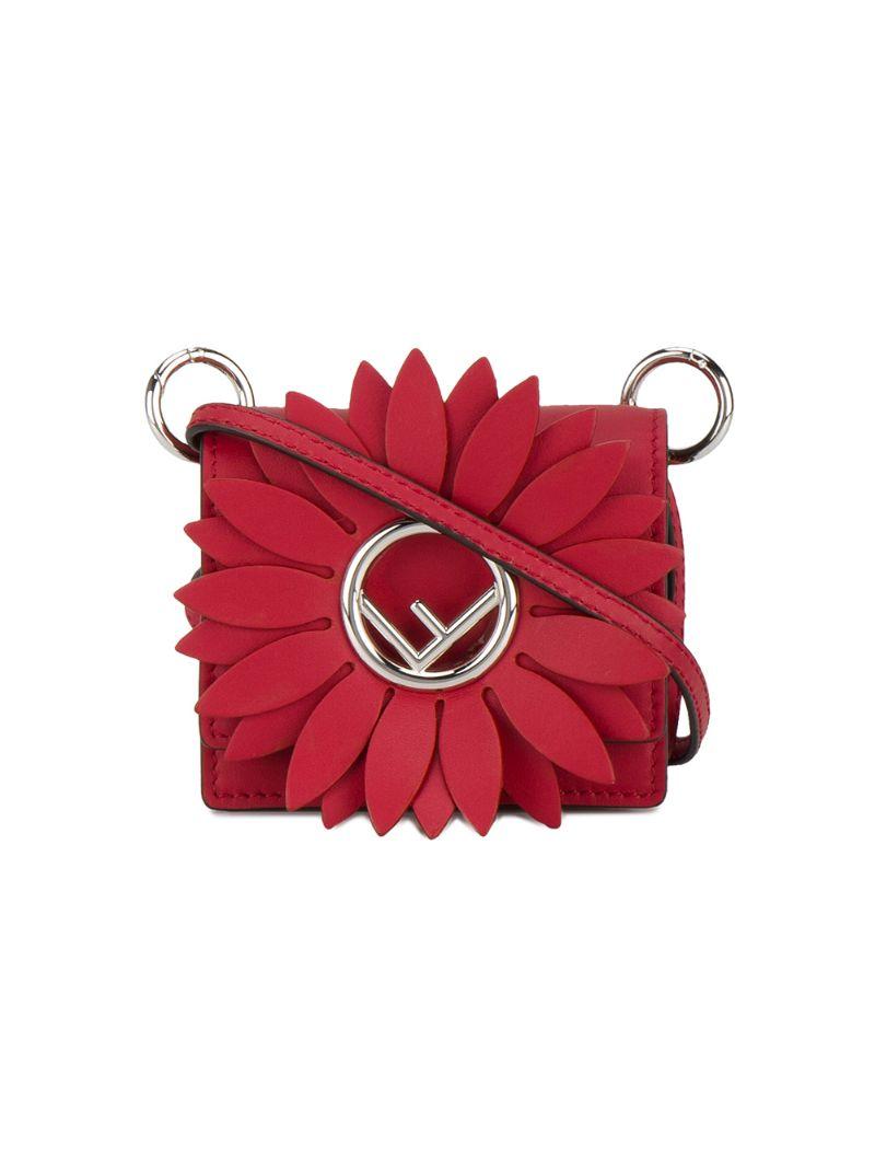 676d4a5a2fc8 Микро-сумка 'Kan I F' Fendi CL000018236150, цвет: красный - цена ...