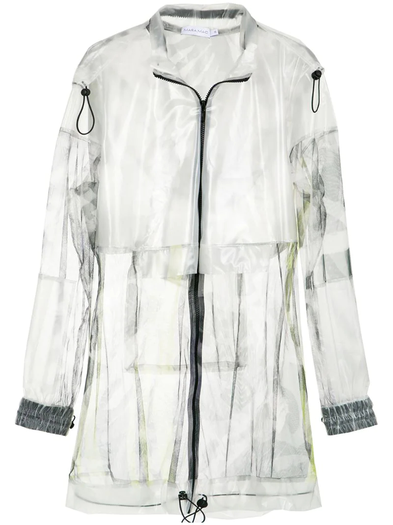 Mara Mac | Многоцветный transparent parka Mara Mac | Clouty