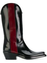 Фото ковбойские ботинки с контрастной полосой Calvin Klein 205W39nyc