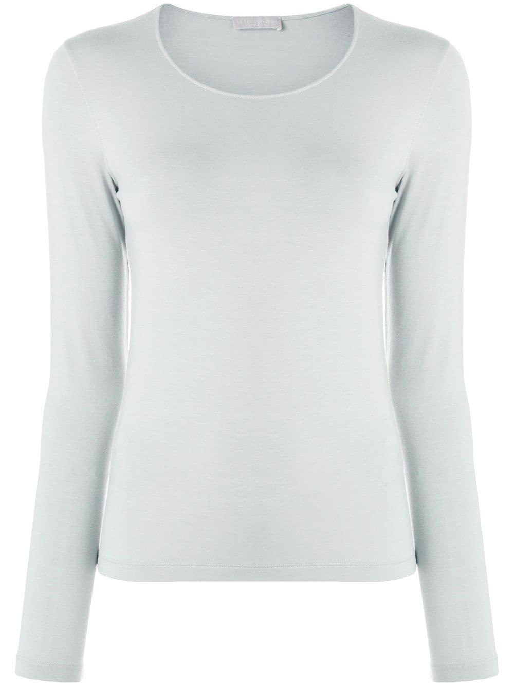 Le Tricot Perugia | блузка с круглым вырезом | Clouty