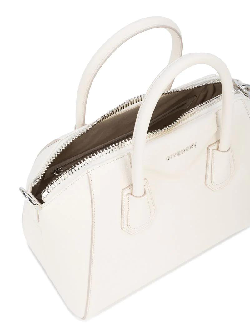 GIVENCHY   Белый сумка-тоут 'Antigona' Givenchy   Clouty