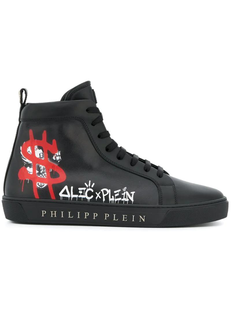 d3bb25a6161d Philipp Plein | Чёрный хайтопы Alec x Plein Philipp Plein | Clouty ...