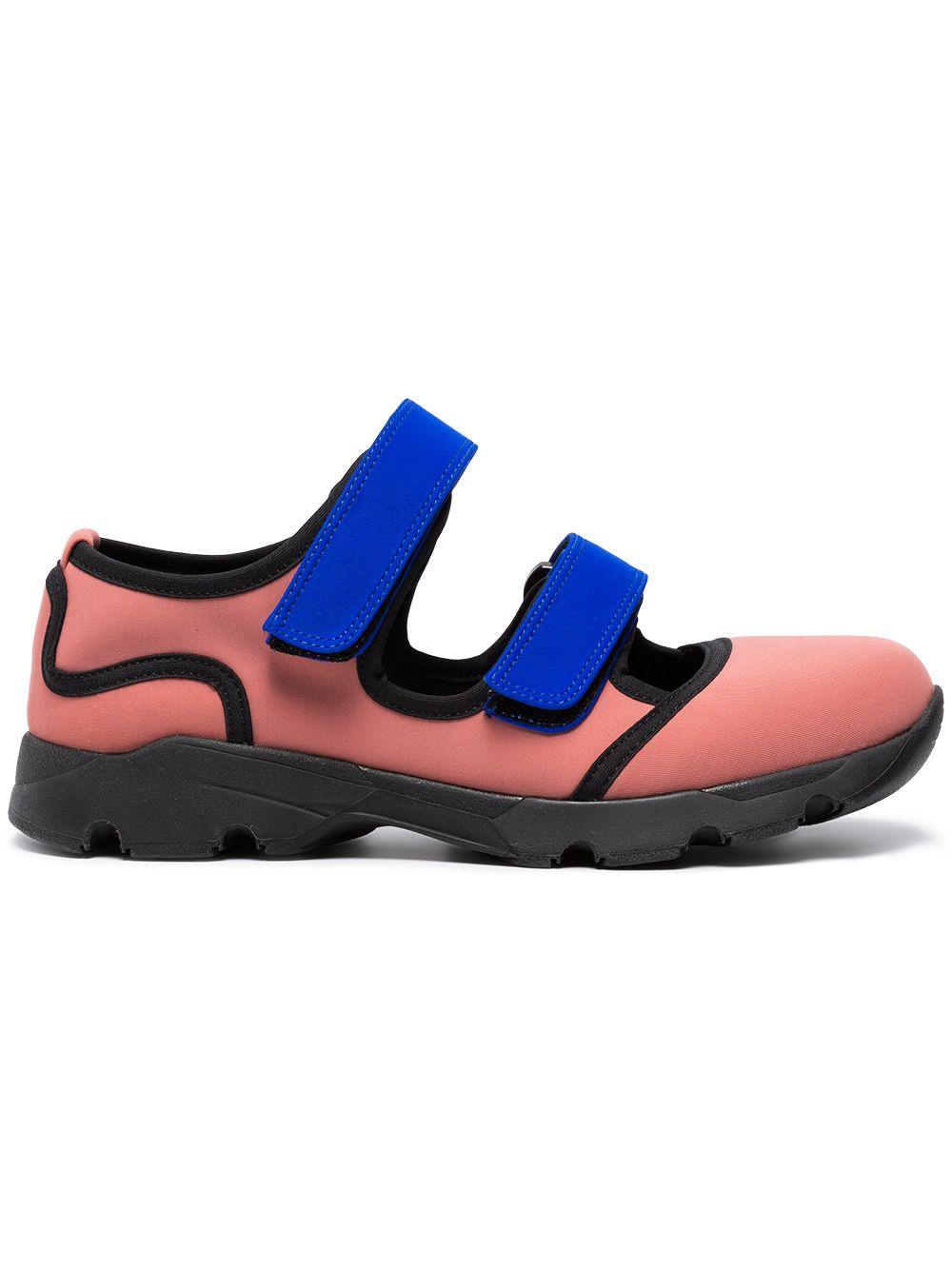 Marni | неопреновые кроссовки на двух липучках | Clouty
