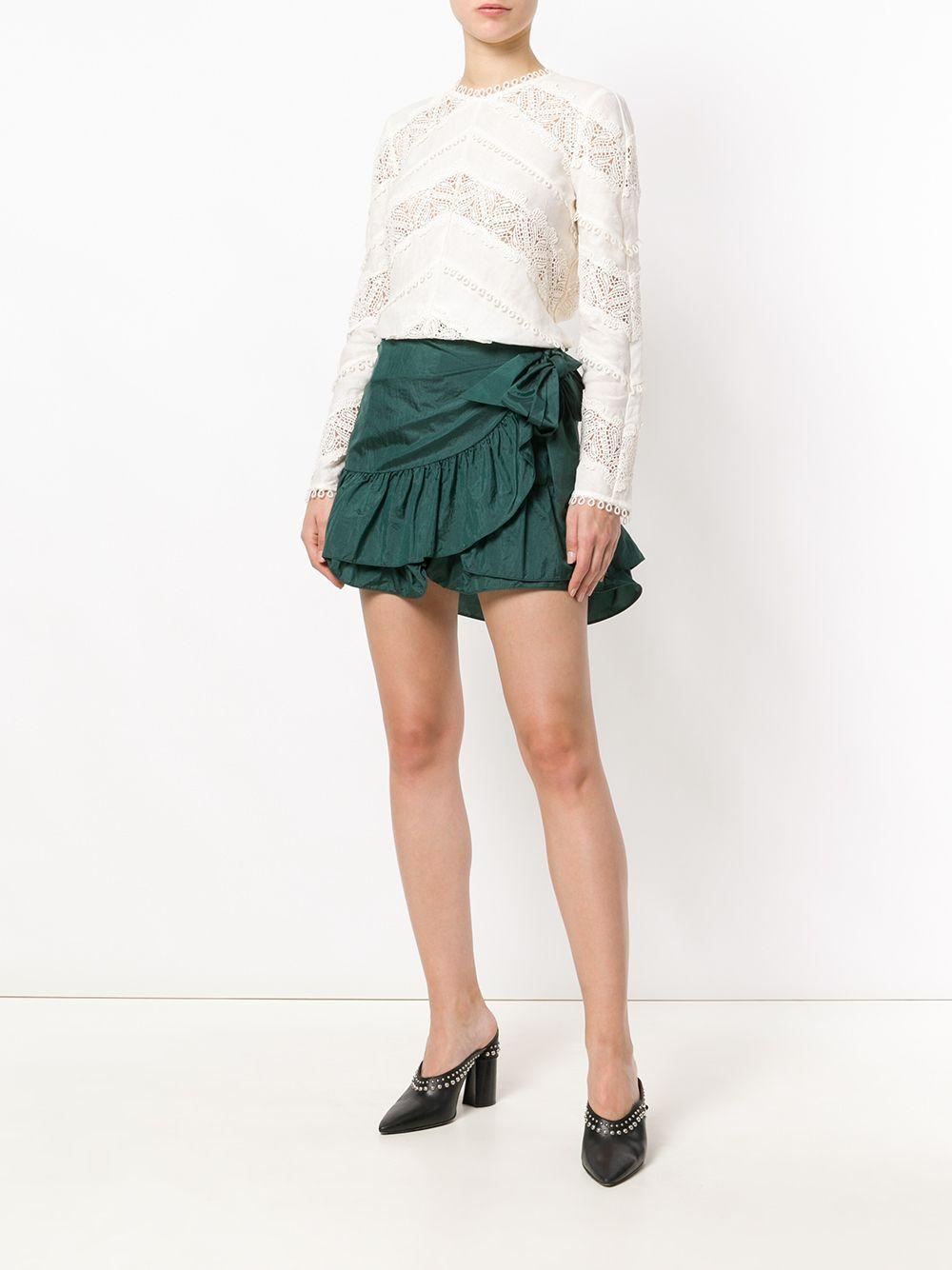 Zimmermann | блузка с ажурными вставками | Clouty