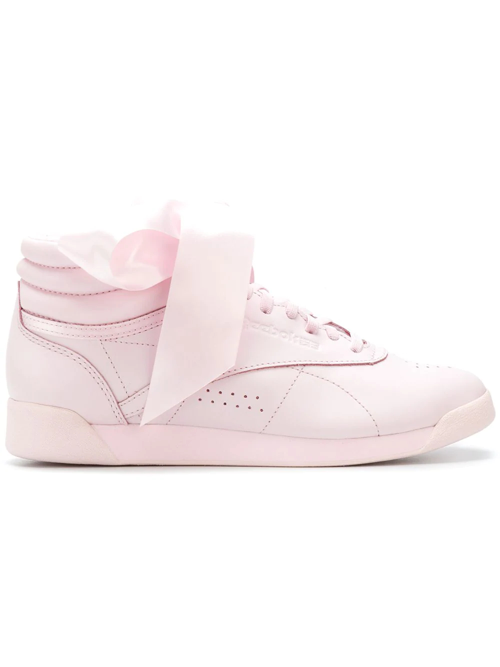 REEBOK | кроссовки 'Freestyle Hi Satin Bow' | Clouty
