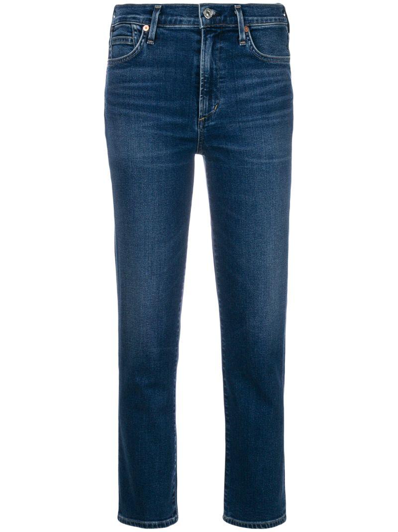Citizens Of Humanity | укороченные джинсы-сигареты 'Cara' | Clouty