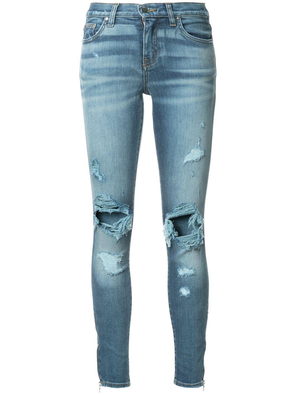 Amiri | джинсы скинни 'Thrasher' | Clouty