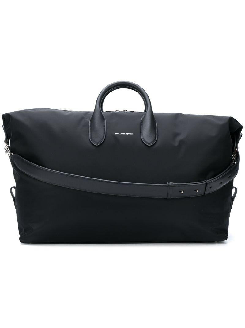 928688a19253 Alexander McQueen | Чёрный классическая дорожная сумка Alexander McQueen |  Clouty ...