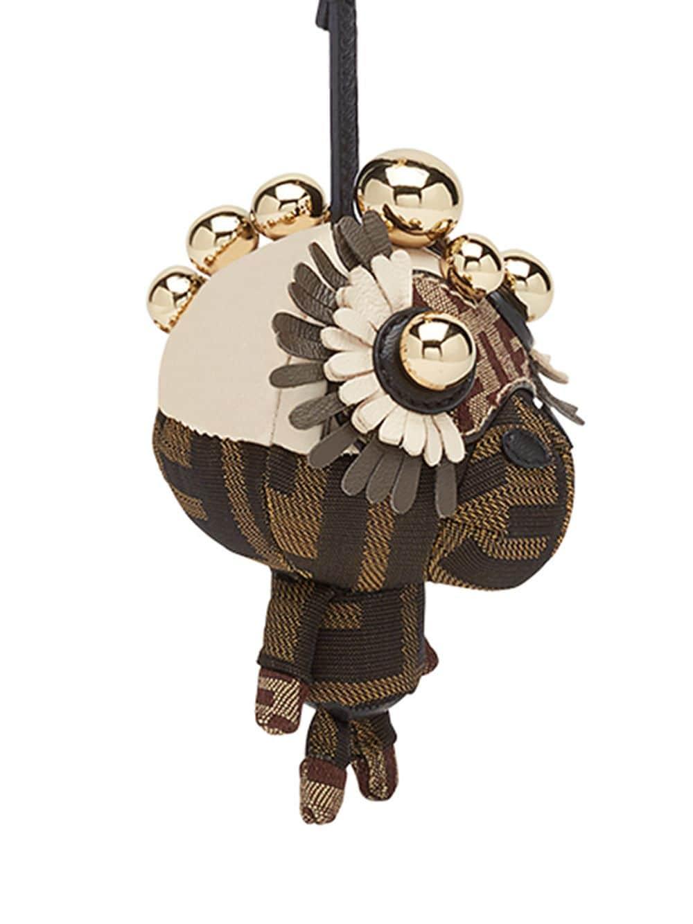 FENDI | Fendi подвеска на сумку 'Space Monkey' | Clouty