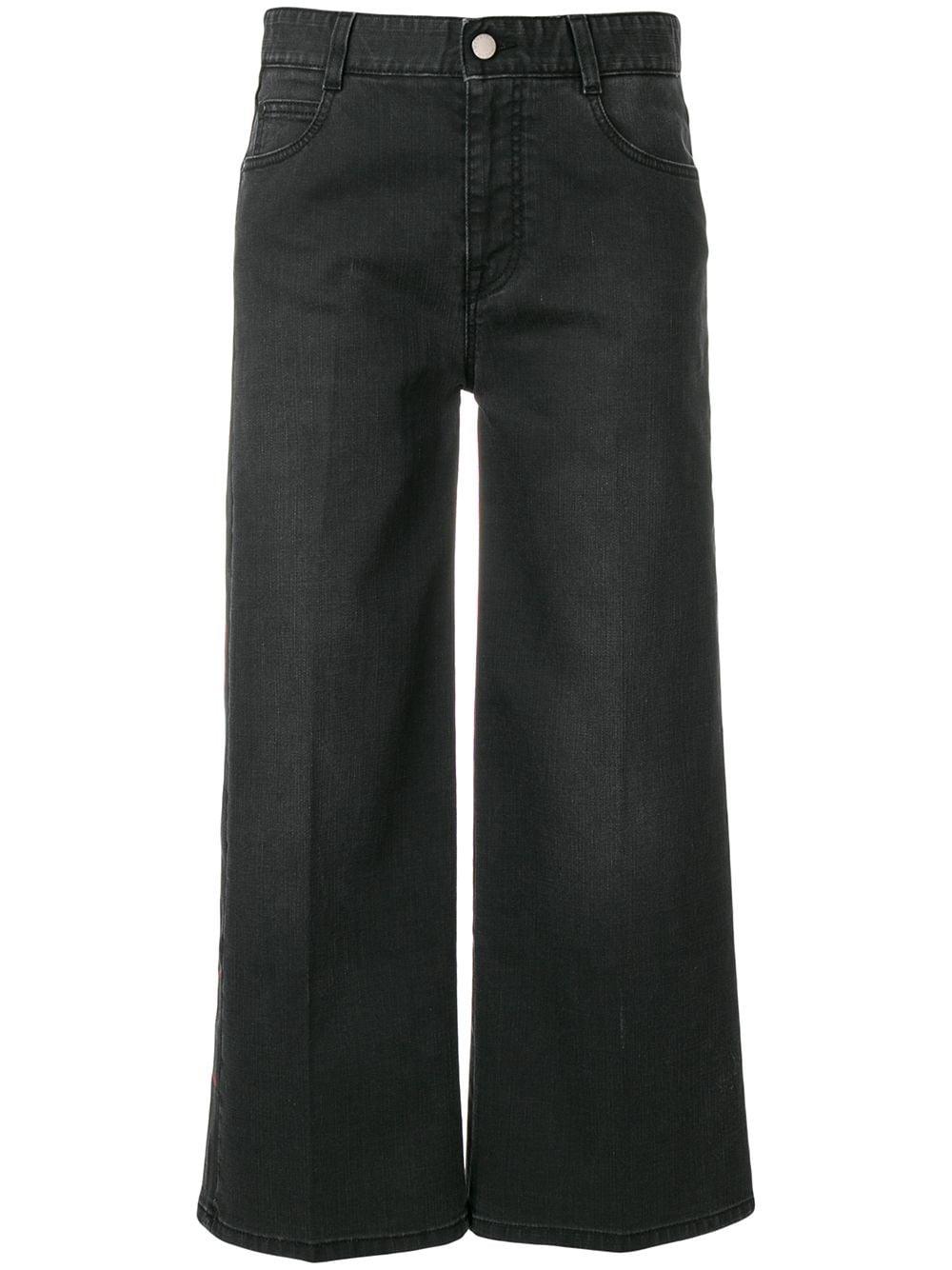 Stella McCartney | укороченные джинсы 'All Is Love' | Clouty