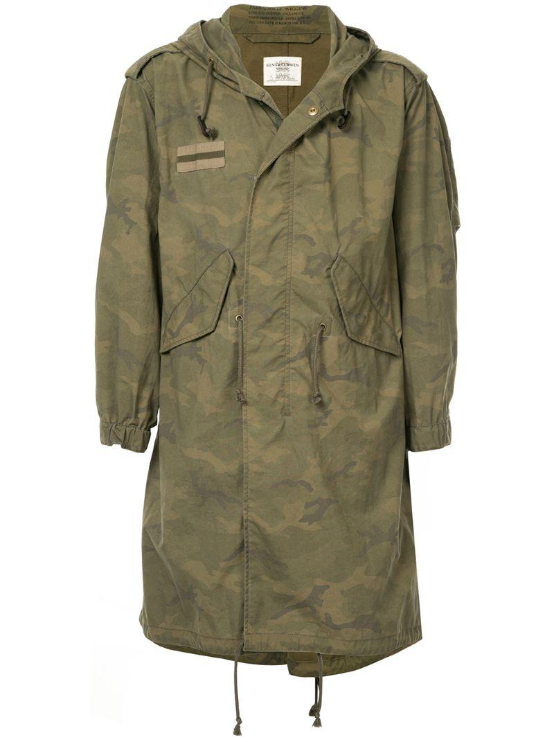 Kent & Curwen | камуфляжная куртка | Clouty