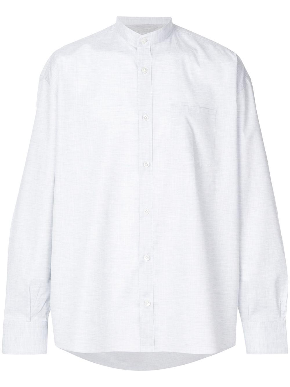 Eleventy | рубашка без воротника | Clouty